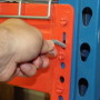 Universal Pallet Rack Drop Pin Application